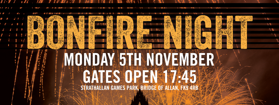 Bridge of Allan Fireworks 5th November